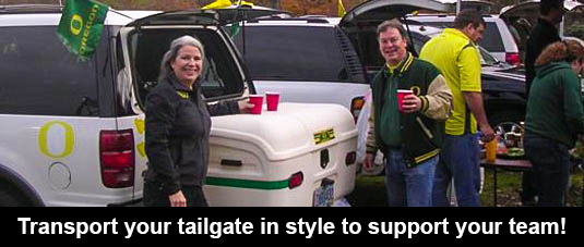 Hitch Cargo Carrier for Tailgating