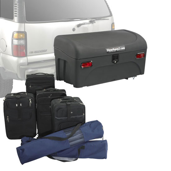 StowAway Standard Hitch Cargo Carrier - 22