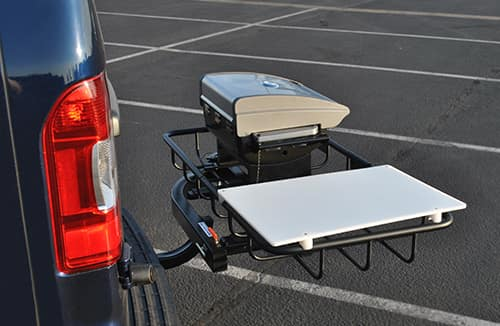 Trailer Hitch Luggage Rack Classy StowAway60 Hitch Cargo Carriers
