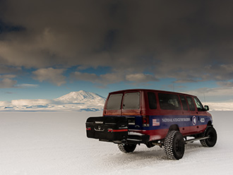 StowAway MAX Cargo Carrier on Ford van, National Science Foundation Research Team, Antarctica