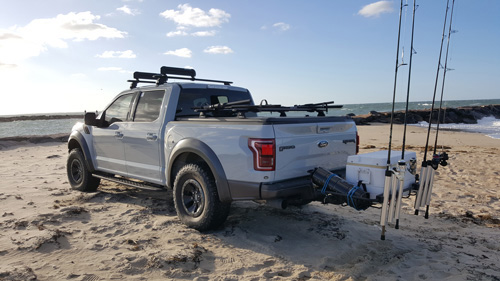 Hitch Racks For Hunting And Surf Fishing Stowaway