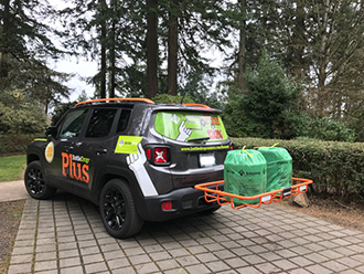StowAway Cargo Rack on Bottle Drop Oregon Jeep Renegade