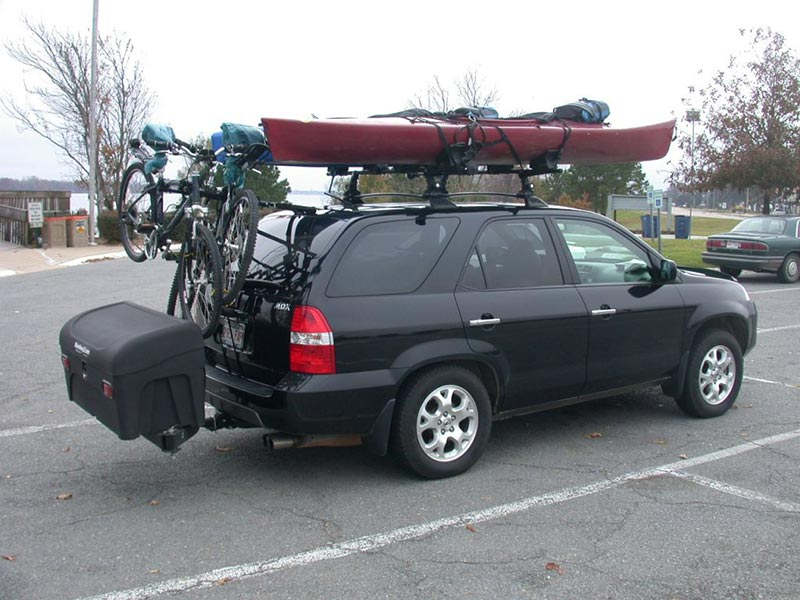 Acura MDX with StowAway Standard Cargo Carrier