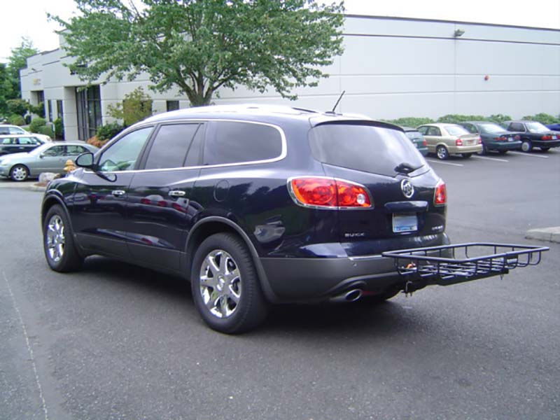 Buick Enclave with StowAway Cargo Rack on SwingAway Frame