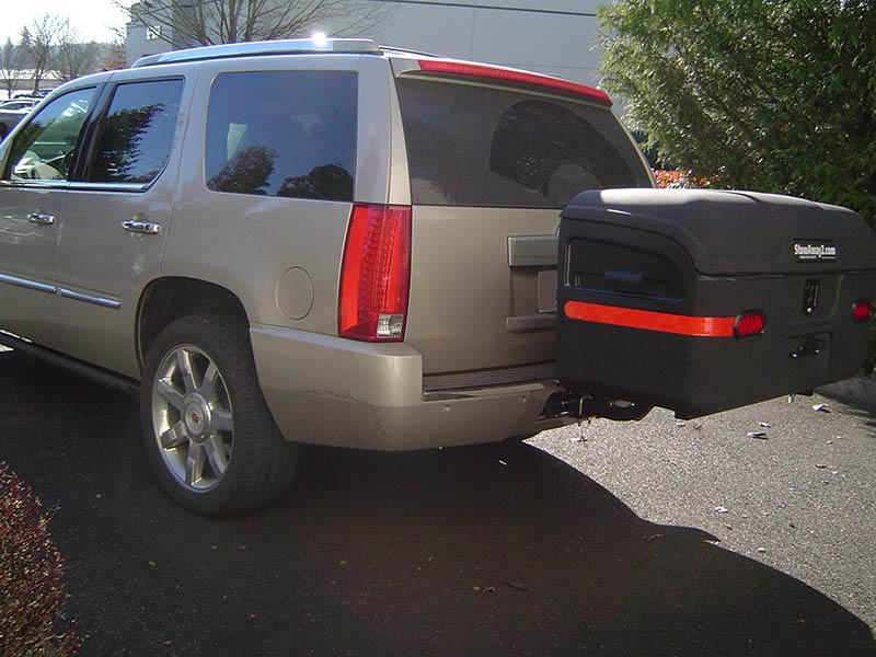 Cadillac Escalade with StowAway MAX Cargo Carrier