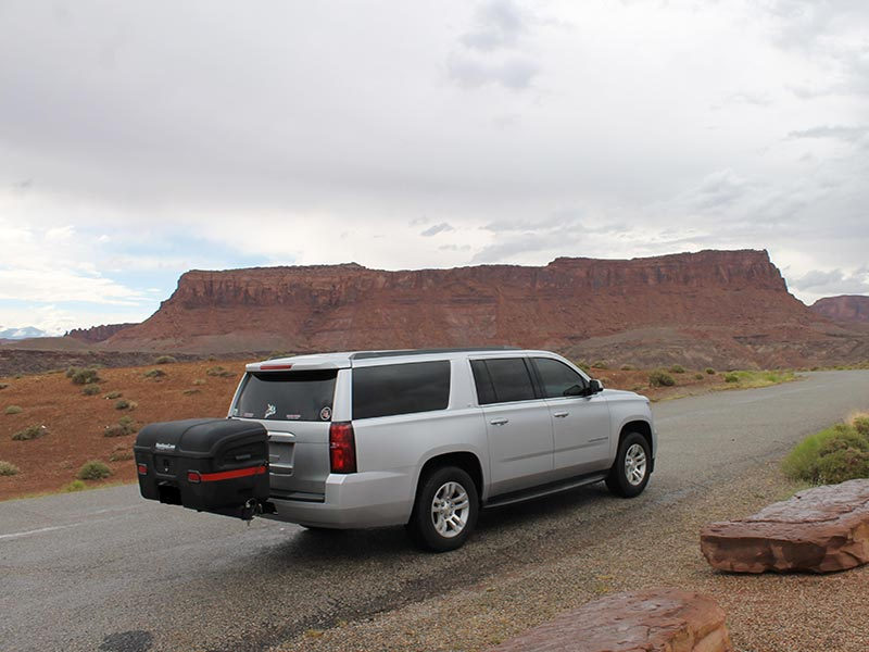 Chevy Suburban with StowAway MAX Cargo Carrier