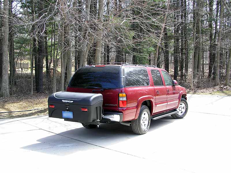 Chevy Suburban with StowAway Standard Cargo Carrier