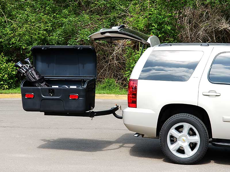 Chevy Tahoe with StowAway MAX Cargo Carrier