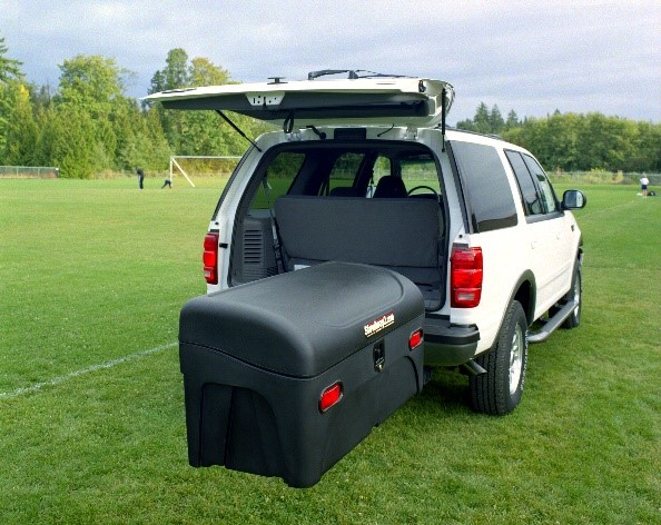 Ford Expedition with a StowAway Hitch Cargo Box