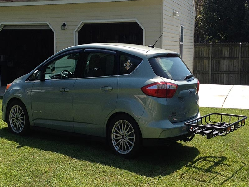 Ford C-Max Hybrid with StowAway Cargo Rack