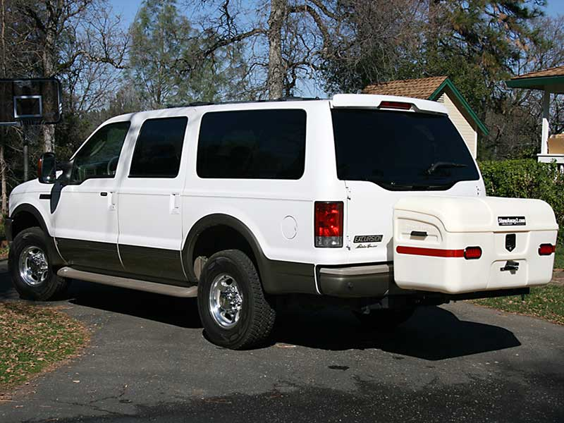 Ford Excursion with StowAway MAX Cargo Carrier