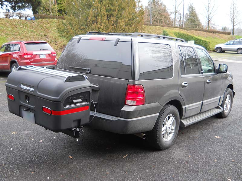 Ford Expedition with StowAway MAX Cargo Carrier