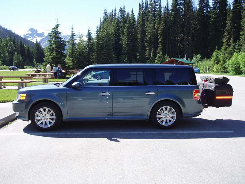 Ford Flex with StowAway MAX Cargo Carrier