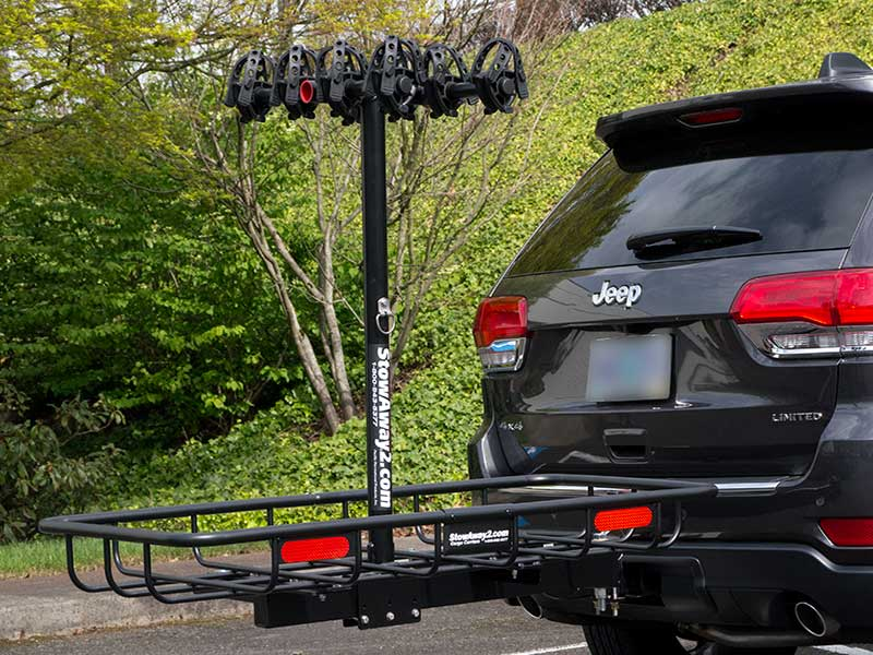 Hitch Cargo Carriers For Jeep Stowaway