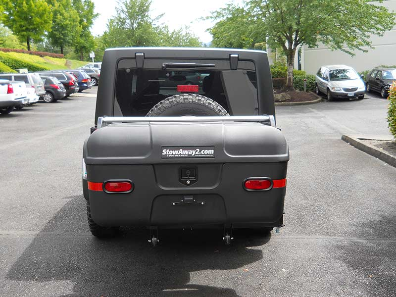 Jeep Wrangler with StowAway MAX Cargo Carrier