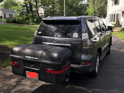 Lexus GX 460 with StowAway MAX Cargo Carrier