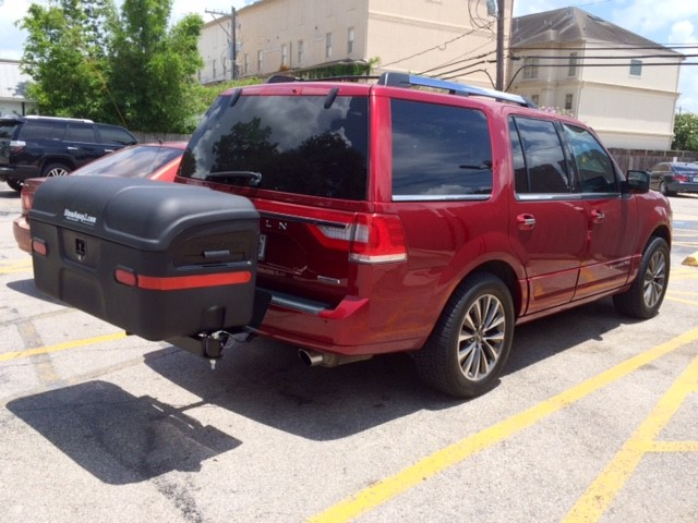 Lincoln Navigator with StowAway MAX Cargo Carrier