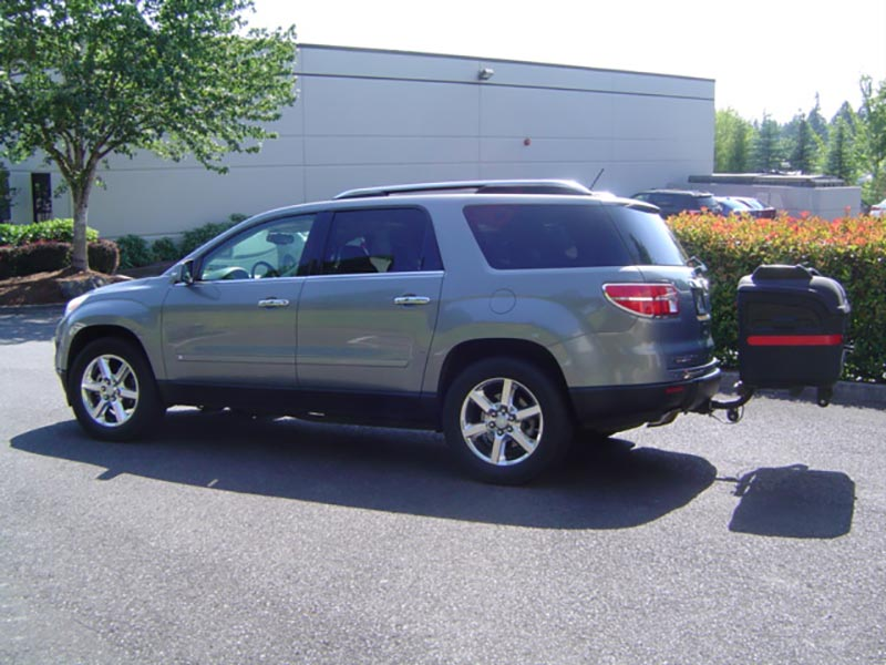 Mitsubishi Outlander with StowAway MAX Cargo Carrier