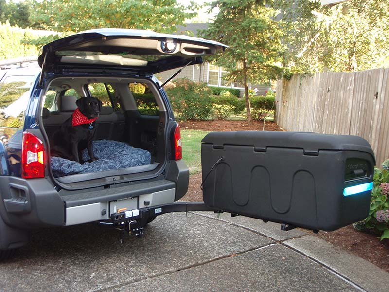 Nissan Xterra with StowAway MAX Cargo Carrier