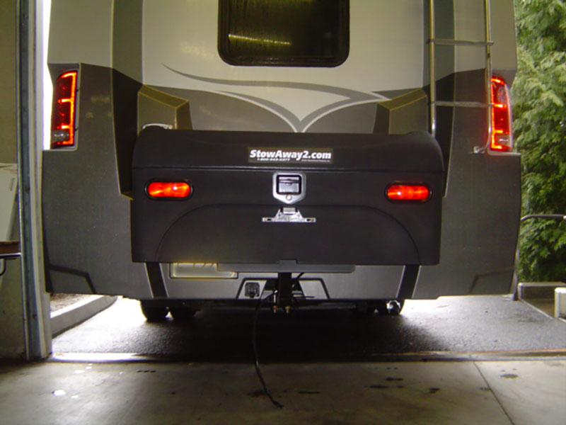 Itasca RV with StowAway Standard Cargo Carrier