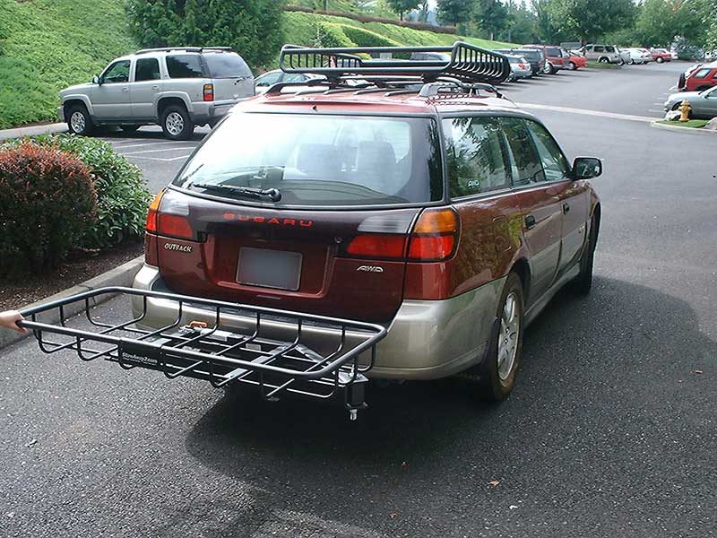Subaru Outback with StowAway Cargo Rack