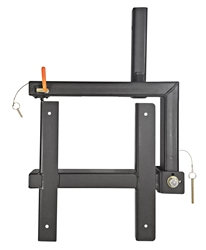 Swingaway Hitch Frame for Ski Carriers Ski shuttle hitch mount frame, ski carrier frames