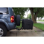 StowAway Standard Cargo Carrier with drop hitch installed