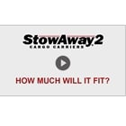 Video showing how much the StowAway MAX Cargo Carrier can hold
