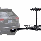 hitch bike cargo rack by Stowaway showing SwingAway Frame for rear vehicle access