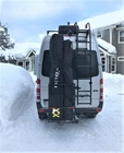 Hitch Ski Carrier on Swingaway Frame for Ski Shuttles - ST 026.3