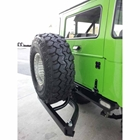 StowAway SwingAway Frame carrying spare tire on Hummer H1