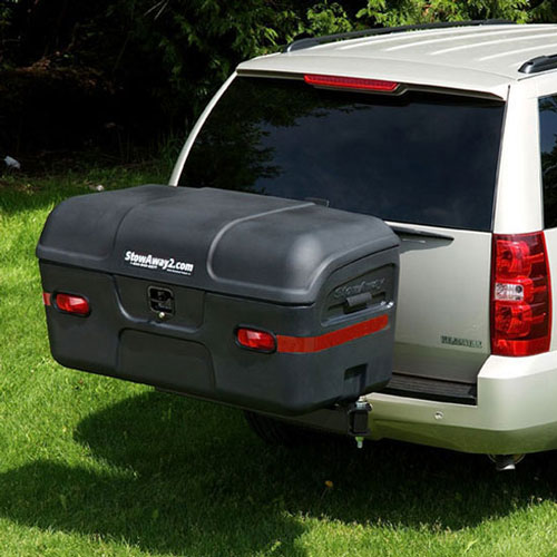 Max Hitch Cargo Carrier Black Stowaway Carriers