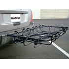 StowAway Cargo Rack Net hooks around cargo rack rails to keep gear secure during storage or transport