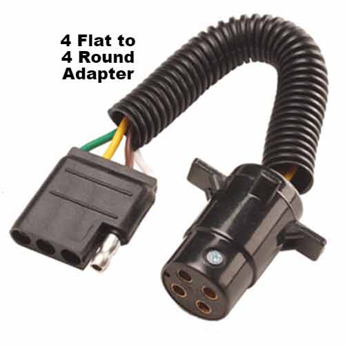 StowAway Electrical Hitch Adapter connects vehicle's wiring to cargo carrier's taillights