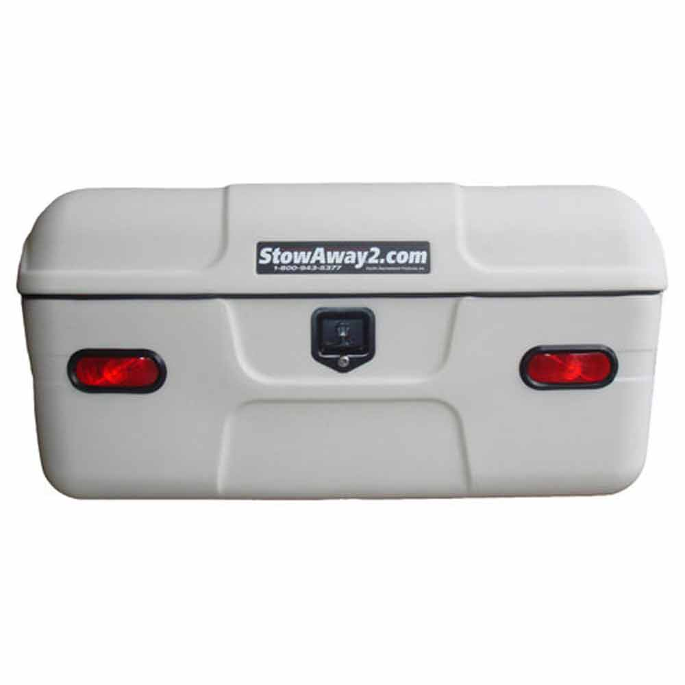 White StowAway MAX Cargo Carrier  sc 1 st  StowAway2 & Cargo Box for Sale | Trailer Hitch Storage | StowAway