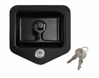 Post-style lock comes with an entire new latch and keys